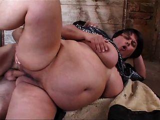 Gorda fantástica anal