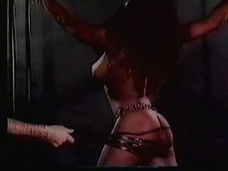 Escravo de harém grande titted recebe um chicote extremo (em câmera lenta)