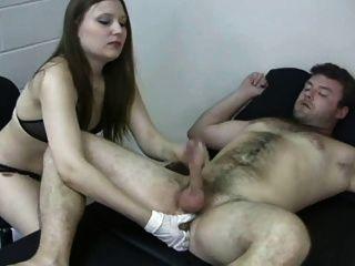 Próstata massagem suckoff handjob