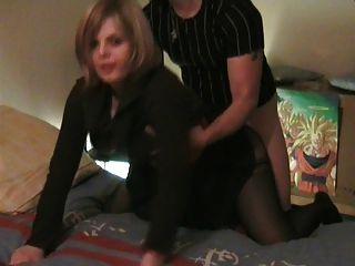 Real amador francês doggy casal #rec ela olha para câmera p1
