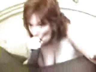 Minha esposa e amigo preto video gravado