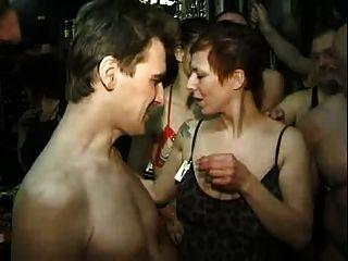 Aniversário no swinger club