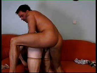 Empregada doméstica duro anal