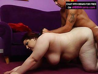 Bbw cabelo vermelho fode com mamas gigantes e gordura ass parte 2
