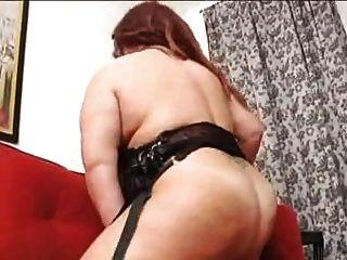 Mulher madura de bbw de solo com grandes melharucos