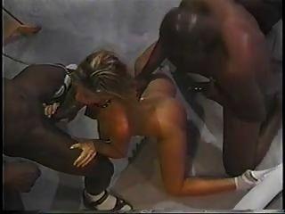 Escravo de sexo para dois pendurados preto gajo