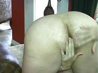 Maduro, peludo, grande, peido, mulher