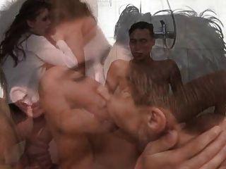 Partido de chuveiro bissexual 1