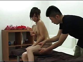 Celebridade voyeur massagem mirei shiratori