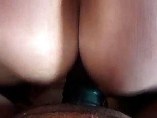 Creampie maciço na esposa