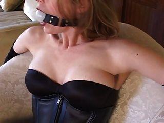 Escravidão com meias sexy \u0026 saltos altos (bombas de 6 polegadas preto)