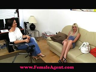 Femaleagent agente feminino vs agente falso