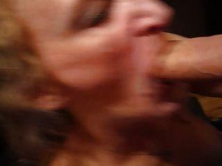 Meu pau da esposa do divertimento suga o navio de guerra