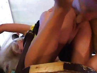 Mulher madura foda menino