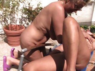 Lésbicas maduras e grannies
