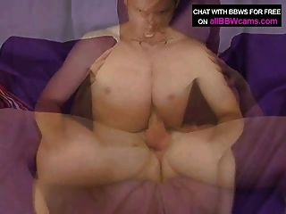 Latina incrível gordura bbw tits fode gigante galo parte 2
