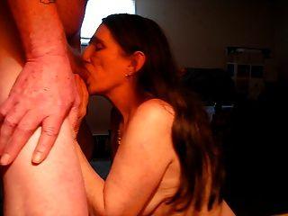 Eu amo suckin meu homem para esperma !!