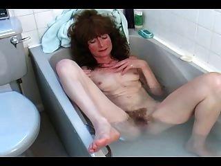 Maduro cabeludo no banho