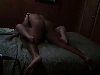 Homem negro fode gordura branca co trabalhador