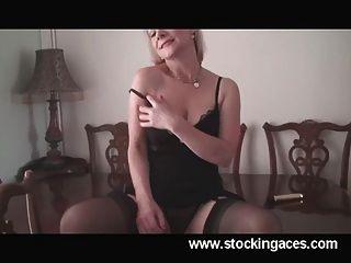 Hot milf tiffany escritório quebrar pussy play