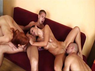 Bisex swingers quarteto parte 2