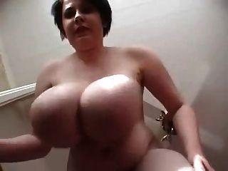 Big hanging saggy boobs