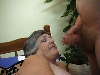 75 anos velha voraz libby 3some
