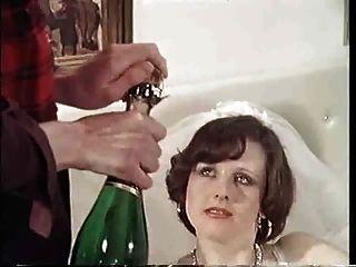 Orgia do casamento do vintage