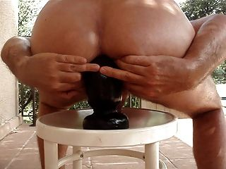 O buttplug enorme é meu burro