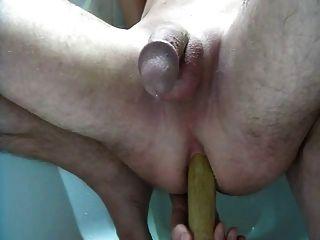 Massagem de próstata ordenhando esguichos e cums múltiplos