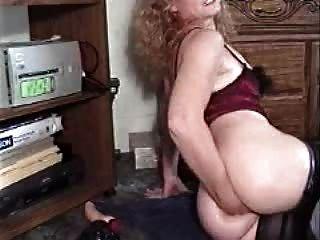 Senhora ass fisting em cam