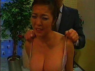 Notícia asiática groped e tit slapped (versão completa)