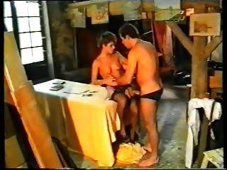 Casal de cabelos curtos alemães dupla penetrou por dois caras