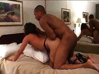 Esposa fodida em um hotel