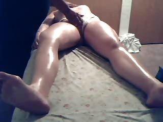 Massagem cam escondida