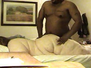 Ssbbw faz anal com o homem preto afortunado