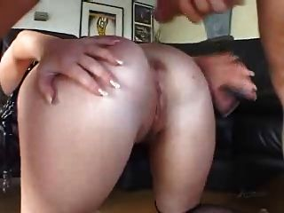 Sasha knox slut, anal rimming deepthroat buttplug divertido!