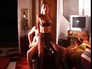 Amador bi mmf threesome dois vestindo lingerie