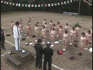 Maduras, japoneses, mulheres, tira, exercício