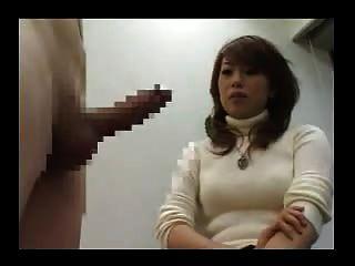 Ela nunca viu um pau então ele tira e se masturba 2