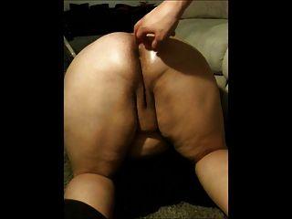 Bbw porco anal fica embebido
