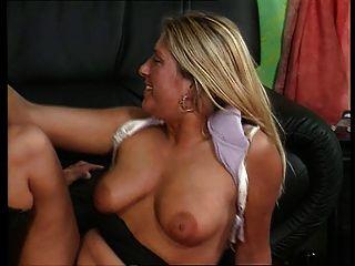 Loira alemã loira anal