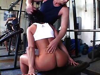 Azevinho, corpo, cheio, corpo, exercício