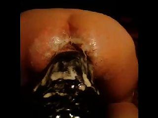 Hugest dildo fuck 2 ass inserção 2