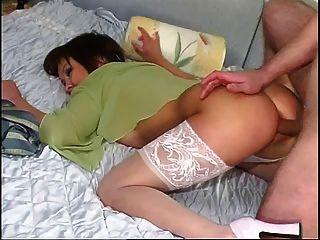 Vizinha esposa anal creampie