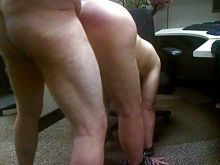 Sexo com minha vagabunda.Ela tem um grande rabo para chicote!