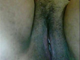 Hot bbw asiática joga com sua buceta