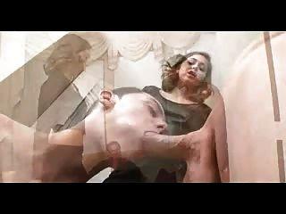Quente esposa fode seu marido cuckold e seu chefe (cuckold)