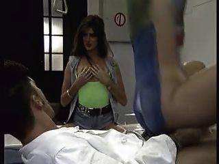 Corpo pintado mulher alemã fica fodido