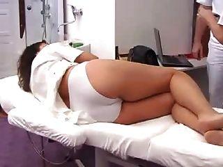 Exame gyno completo da mulher grávida